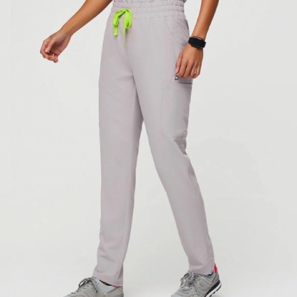 Figs high waisted Yola skinny scrub pants
